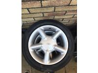 Ford Gti wheels 15inch new tyres