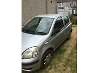 toyota yaris starts and drives minor side damage see pictures spares or repairs salvage