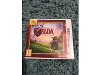 The legend of Zelda ocarina of time 3D , 3ds , as new ! Price stands , no offers !