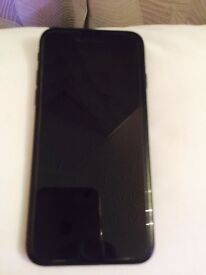 IPhone 7 jet Black 32GB mint condition