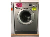 INDESIT 6KG DIGITAL SCREEN WASHING MACHINE IN SILIVER