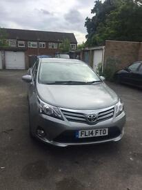 Toyota Avensis with PCO licence