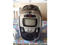 Karaoke CDG Player With Digital Camera and TV Monitor VKGF CD plus graphics .Portable system