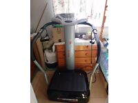 Vibration plate in excellent condition