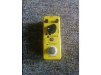 Donner Yellow Fall True Bypass Delay Pedal