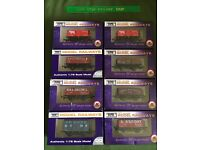 8 dapol wagons job lot