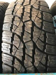 D004 2- 265/70/18 WILD COUNTRY RADIAL XTX TIRES $100 pair
