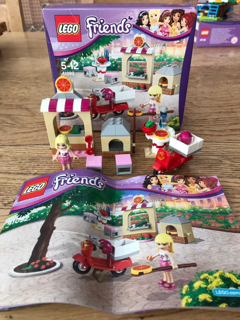 Lego Friends 41092 Stephanies Pizzeria 100 Complete In Farsley