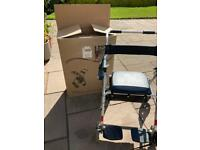 2 in 1 Rollator with storage seat