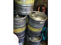EMPTY Beer Kegs