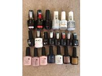 New gel nail polishes £5 Each or all for £80