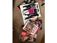 One direction books and dvds