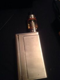 I got two vapes and a charger and two batteries and a thank for sale