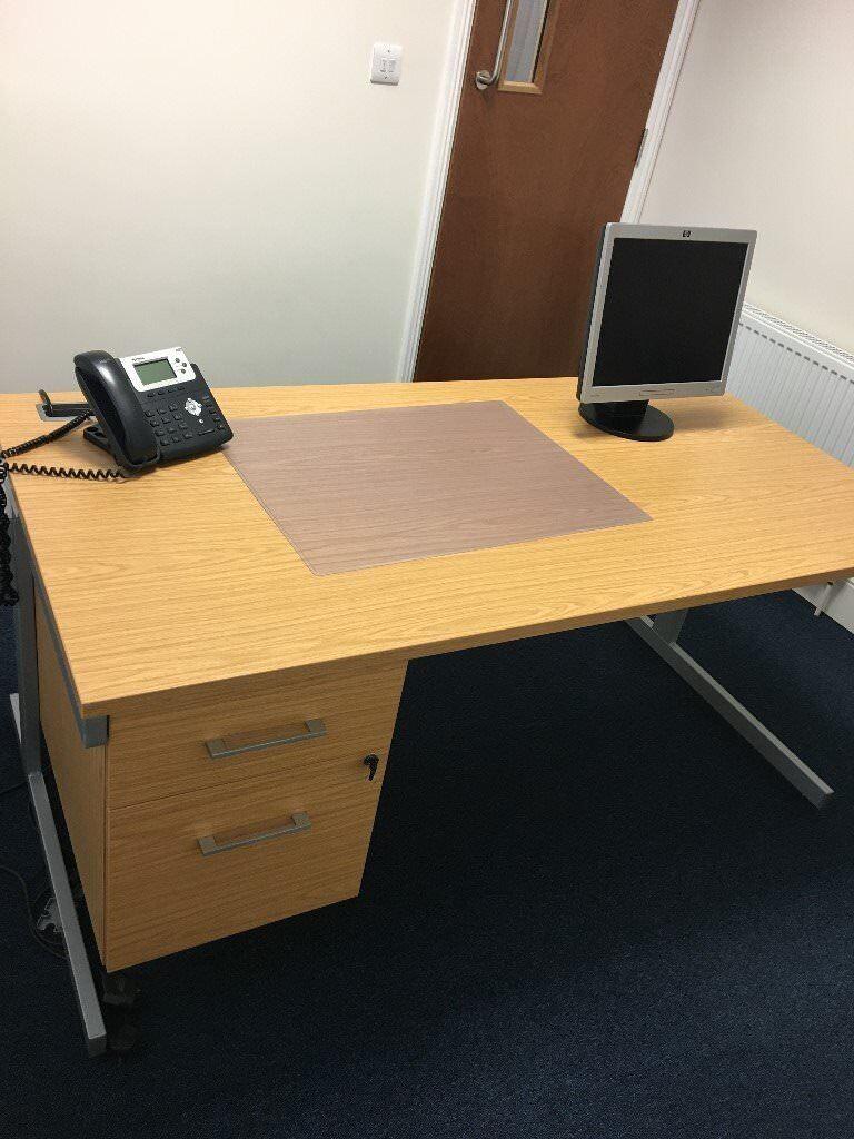 Office Desks and Desk High Pedestals Filing/Storage
