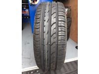 1x 195/55/15 Continental Tyre