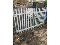 Palisade Security Driveway galvanised gates 2.9x1.8 with posts