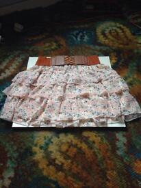 New Look girls summer skirt above knee