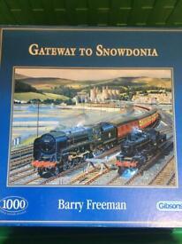 Railway jigsaw puzzles 1000 piece