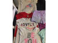 Girls clothing bundle inc next coat 5-6yrs , can post