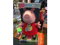 ABC talking peppa pig brand new