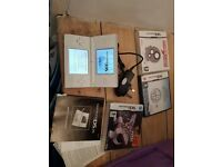 Nintendo 2ds with pokemon game and 2 other