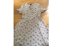 Ladies summer tea dress new look size 14