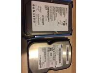 Hard drives SATA 3.5' formatted and ready to use