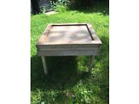 Wooden Table/Beehive Stand