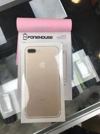 APPLE IPHONE 7 PLUS 32GB GOLD BRAND NEW UNLOCKED