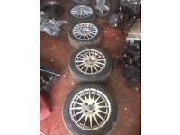 Vauxhall fitment alloy wheels £65
