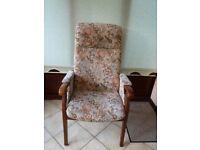 Orthopaedic high back chair