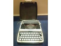 Smith corona zephyr typewriter