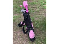 Golf Girl Child's Golf Set
