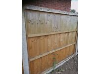 15 x fence panels used good condition