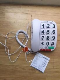 Big button phone / telephone
