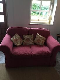 Two seat Sofa with removable washable cover