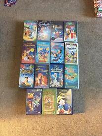 Walt Disney VHS Video Collection - 15 Films