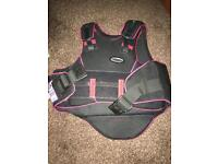 Immaculate horse riding vest / brace