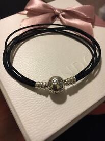 Pandora Multi Strand Bracelet