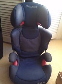 Selection of Car seats for sale from baby to booster seats for older kids