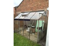 8x6ft greenhouse