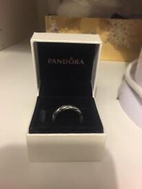 Pandora ring in box size 58