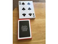 Large and Jumbo playing cards & let's talk card game