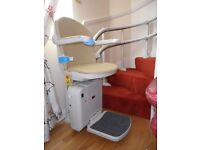 Nearly New Companion Stairlift for sale. Right Hand Curve. 3 months old.