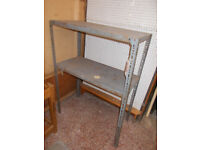 Heavy Duty Garage Shelving Unit 4 Foot x 3 Foot x 18 inches; { Other Sizes Available}