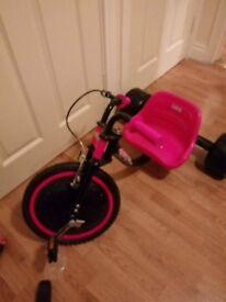 ELEKTRA Kids Hog Trike - Pink - Light Up Flashing Wheel