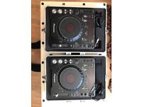 Pioneer CDJ 1000 MK3 x2 Including flight cases