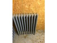 3 cast iron radiators for sale