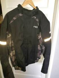 Spada motorbike jacket and trousers