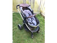 Chicco urban travel system 2in1 pram